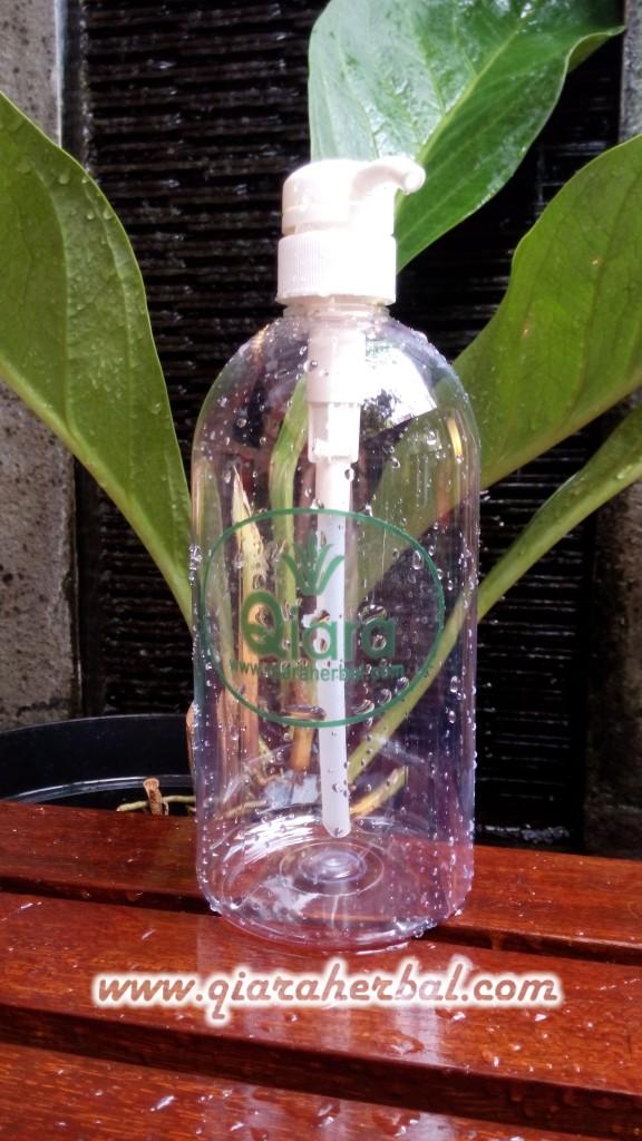 Botol Pompa 1000ml - www.qiaraherbal watermark