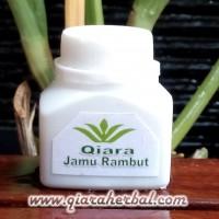 Jamu Rambut (kapsul) - www.qiaraherbal watermark