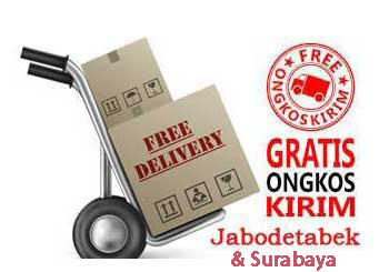 Free Ongkir Jabodetabek & Surabaya