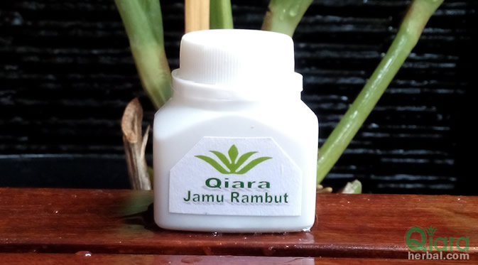 jamu rambut qiara herbal